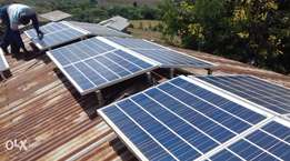 solar inverters and solar panel and installation