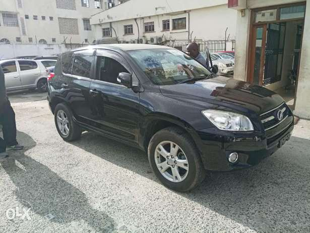 2010 model of Black Rav 4 with dark interior KCP number Mombasa Island - image 1