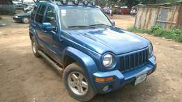 Jeep LIBERTY sweet smooth ride