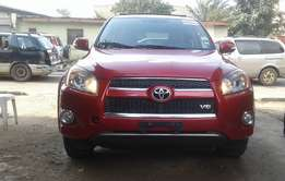 Extra clean foreign used Red Toyota RAV4 2009 model