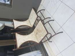 Chairs dining room/patio