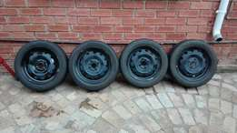 4 X Kia Picanto wheels