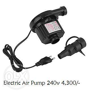 AC Electric Air Pump Inflate AirBed Mattress Electrical Inflator 240v South B - image 1