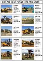 Plant Hire And Sales