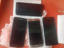 4 Sweet Used S7 Egde N115,000 each, ONE REMAINING