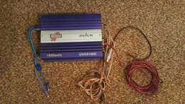 4 Channel Calibra 1000w amp