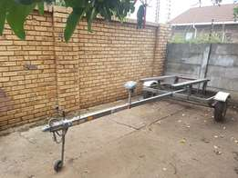 Boat trailer in very good condition