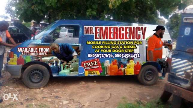 Mobile Van delivery for your Cooking Gas/Diesel Kubwa - image 2