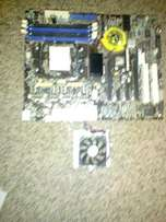 AMD AM2 Foxconn Motherboard + CPU Fan