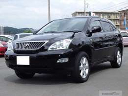 2009 Toyota harrier black in color