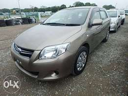 Toyota Corolla Fielder 2011 Model Automatic Transmission Brown KCN