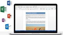 Microsoft Word 2016 for Mac installation at 1500