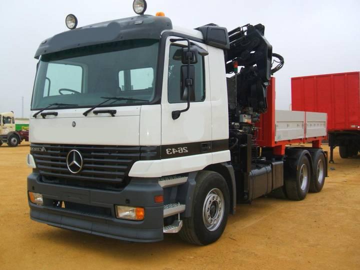 Mercedes-Benz ACTROS 26 43 GRUA - 2008