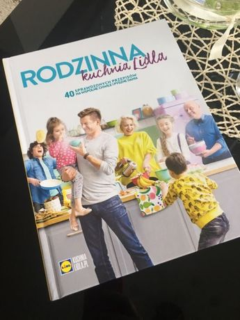 Nowa Książka Rodzinna Kuchnia Lidla Kucharska Karol Okrasa
