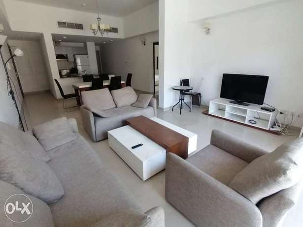 Delightful 2 BR FF+Balcony in Amwaj Island For Rent