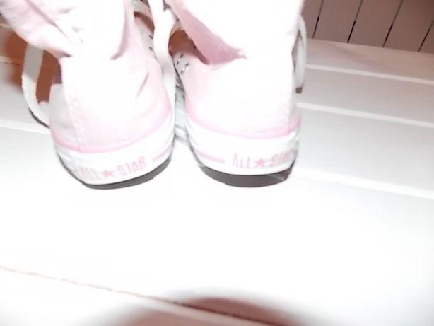 CONVERSE buty RÓŻOWE modne trampki r.31,5 ALL star SUPER róż
