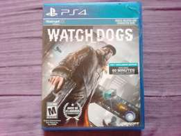 Ps4 watch dogs for sale or swap