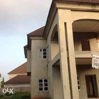 5bedroom carcass duplex fully detached at Mab Global Gwarinpa