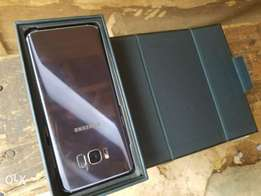 Uk used s8 plus with little crack for sale