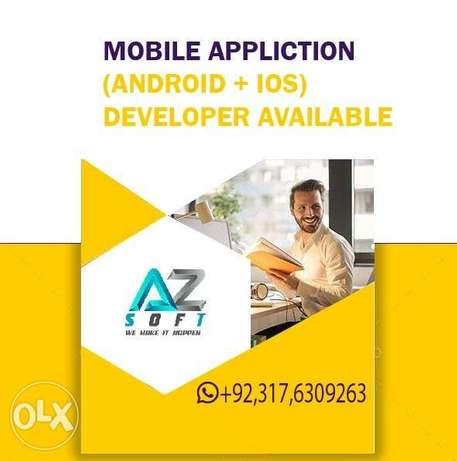 Mobile app developer Remotely Available for mobile app .Android-IOS