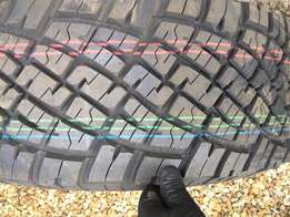 New X4 265/70R15 General Grabber AT Tyres