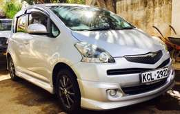 fully loaded Ractis 2010 model premium grade at 799,999/=