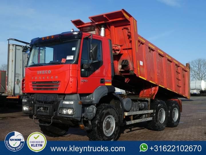 Iveco AD380T42 TRAKKER 6x6 full steel 15m3 - 2013