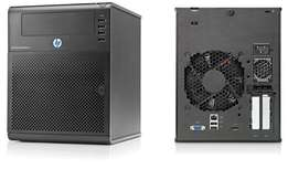 HP MicroServer N40L with 8TB + SSD for OS