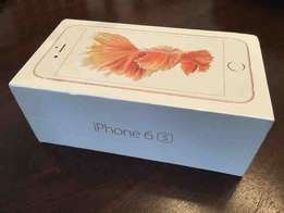 Brand Apple iPhone 6s with FaceTime 64GB, 4G LTE, Rose Gold 1yr wrnty