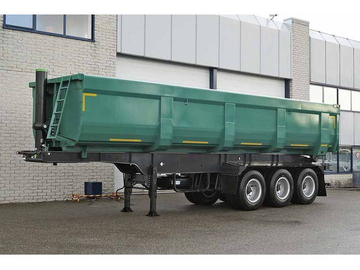 Diversen MITRAX 40T 3 AXLE TIPPER TRAILER 40M3 (2 units)