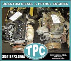 Petrol & Diesel ENGINE'S for TOYOTA QUANTUM - Used Taxi Parts