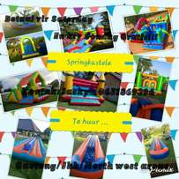Jumping castles for hire..