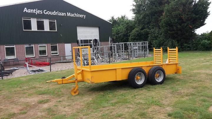 agomac inrijwagen low loader
