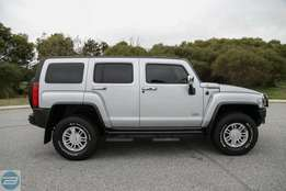 2007 Hummer H3 Adventure Silver 4 Speed Automatic Wagon