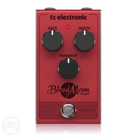 TC Electronic BLOOD MOON PHASER Vintage-Style Phaser Pedal