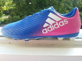 Детские футбольные бутсы Adidas JR X 16.4 cb685adee399e