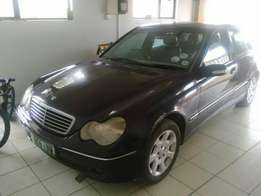 Complete Body with papers, Merc C200, 2001 model