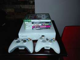 Xbox 360 in great condition.