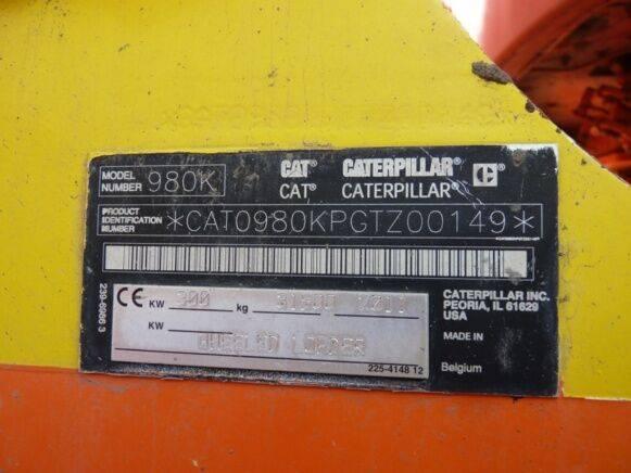 Caterpillar 980 K - 2011 - image 5