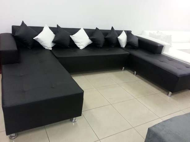 U-shape open on both daybeds,choose your fabric and colour Midrand - image 5
