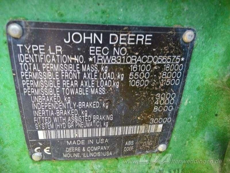 John Deere 8310r - 2012 - image 10