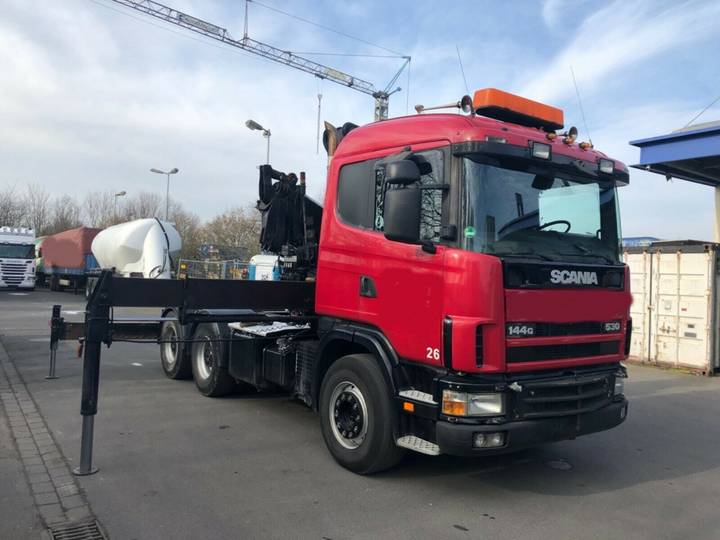 Scania 530 6x4 - Hiab 330-5 - 1999 - image 4
