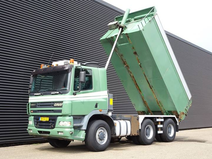 DAF GINAF X3233S 6x6 TIPPER / TOP CONDITION - 2006