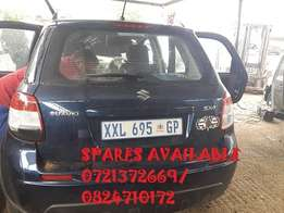 Suzuki sx 4 parts available call us