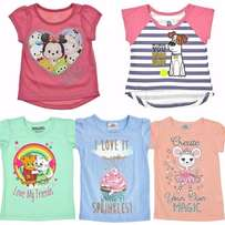 Girls Graphic T-Shirts, Available in 1 to 5 Years