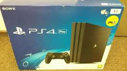 Brand New Playstation 4 Pro 1tb with extra controller and game.