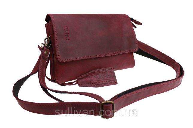 2e2b67aeec4a Кожаная женская сумка клатч натуральная кожа ручная работа sullivan Козелец  - изображение 1