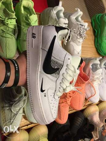 nike Air Force with the box