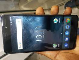 Very clean NOKIA 6 Android 64gb 4gb ram