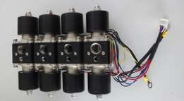 Air Ride Suspension Manifold with dual valves
